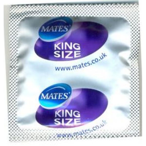 Mates King Size XXL Condoms 12 Pack