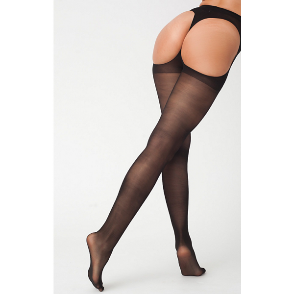 Black Tights with Cutouts